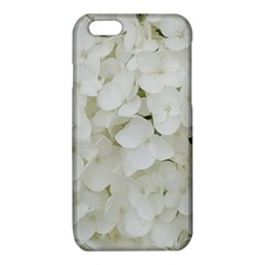 Hydrangea Flowers Blossom White Floral Photography Elegant Bridal Chic  iPhone 6/6S TPU Case