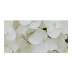 Hydrangea Flowers Blossom White Floral Photography Elegant Bridal Chic  Satin Wrap