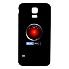 Hal 9000 Samsung Galaxy S5 Back Case (White)