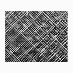 Pattern Metal Pipes Grid Small Glasses Cloth (2-Side)