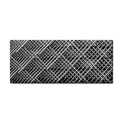 Pattern Metal Pipes Grid Cosmetic Storage Cases