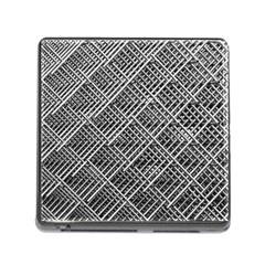 Pattern Metal Pipes Grid Memory Card Reader (Square)