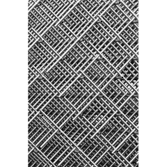 Pattern Metal Pipes Grid 5.5  x 8.5  Notebooks