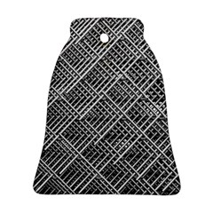 Pattern Metal Pipes Grid Bell Ornament (two Sides)