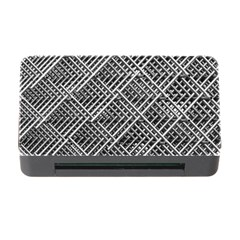 Pattern Metal Pipes Grid Memory Card Reader with CF