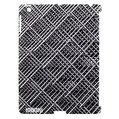 Pattern Metal Pipes Grid Apple Ipad 3/4 Hardshell Case (compatible With Smart Cover)