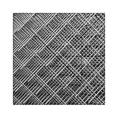 Pattern Metal Pipes Grid Acrylic Tangram Puzzle (6  x 6 )