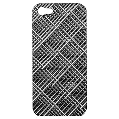 Pattern Metal Pipes Grid Apple iPhone 5 Hardshell Case