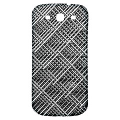 Pattern Metal Pipes Grid Samsung Galaxy S3 S Iii Classic Hardshell Back Case