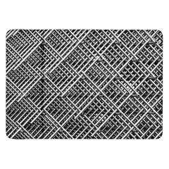 Pattern Metal Pipes Grid Samsung Galaxy Tab 8.9  P7300 Flip Case