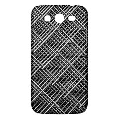 Pattern Metal Pipes Grid Samsung Galaxy Mega 5 8 I9152 Hardshell Case
