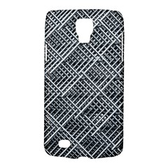 Pattern Metal Pipes Grid Galaxy S4 Active