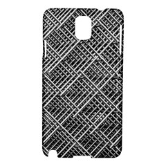 Pattern Metal Pipes Grid Samsung Galaxy Note 3 N9005 Hardshell Case