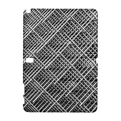 Pattern Metal Pipes Grid Galaxy Note 1