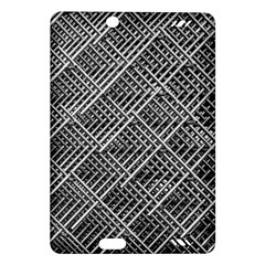 Pattern Metal Pipes Grid Amazon Kindle Fire Hd (2013) Hardshell Case