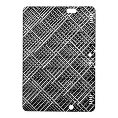 Pattern Metal Pipes Grid Kindle Fire HDX 8.9  Hardshell Case