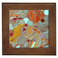 Liquid Bubbles Framed Tiles