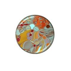 Liquid Bubbles Hat Clip Ball Marker