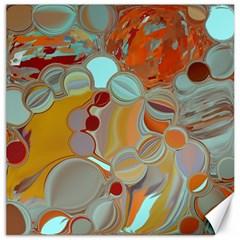 Liquid Bubbles Canvas 16  x 16