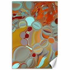 Liquid Bubbles Canvas 20  x 30
