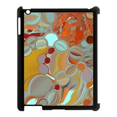 Liquid Bubbles Apple iPad 3/4 Case (Black)