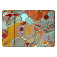 Liquid Bubbles Samsung Galaxy Tab 10 1  P7500 Flip Case