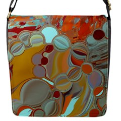Liquid Bubbles Flap Messenger Bag (s)
