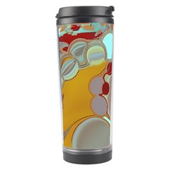 Liquid Bubbles Travel Tumbler