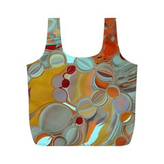 Liquid Bubbles Full Print Recycle Bags (m)