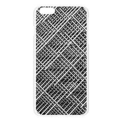 Pattern Metal Pipes Grid Apple Seamless iPhone 6 Plus/6S Plus Case (Transparent)