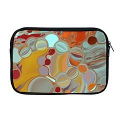 Liquid Bubbles Apple Macbook Pro 17  Zipper Case