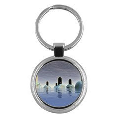 Abstract Gates Doors Stars Key Chains (Round)