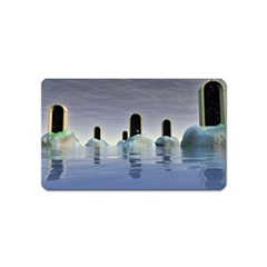 Abstract Gates Doors Stars Magnet (name Card)