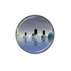 Abstract Gates Doors Stars Hat Clip Ball Marker (10 Pack)