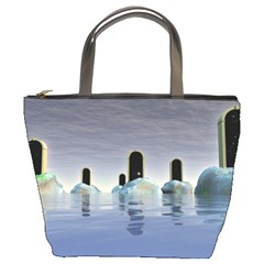 Abstract Gates Doors Stars Bucket Bags