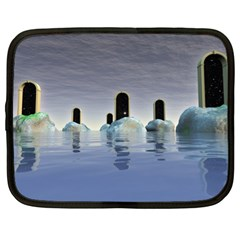 Abstract Gates Doors Stars Netbook Case (XL)