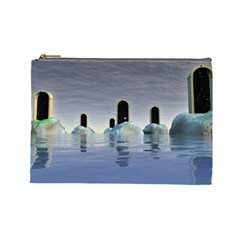 Abstract Gates Doors Stars Cosmetic Bag (Large)