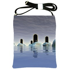 Abstract Gates Doors Stars Shoulder Sling Bags