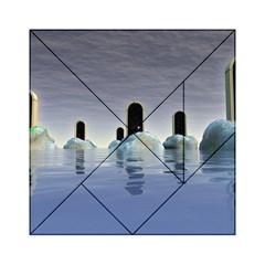 Abstract Gates Doors Stars Acrylic Tangram Puzzle (6  x 6 )