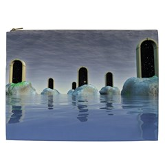 Abstract Gates Doors Stars Cosmetic Bag (xxl)