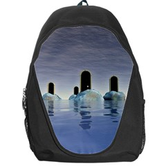Abstract Gates Doors Stars Backpack Bag