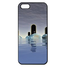 Abstract Gates Doors Stars Apple Iphone 5 Seamless Case (black)