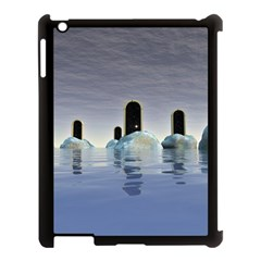 Abstract Gates Doors Stars Apple Ipad 3/4 Case (black)