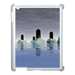Abstract Gates Doors Stars Apple Ipad 3/4 Case (white)