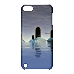 Abstract Gates Doors Stars Apple iPod Touch 5 Hardshell Case with Stand