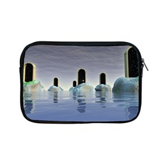 Abstract Gates Doors Stars Apple Ipad Mini Zipper Cases