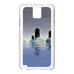 Abstract Gates Doors Stars Samsung Galaxy Note 3 N9005 Case (white)
