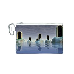 Abstract Gates Doors Stars Canvas Cosmetic Bag (s)