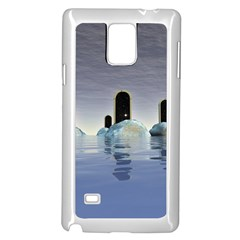 Abstract Gates Doors Stars Samsung Galaxy Note 4 Case (White)