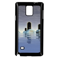 Abstract Gates Doors Stars Samsung Galaxy Note 4 Case (Black)